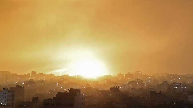'Air and ground troops attacking' Gaza