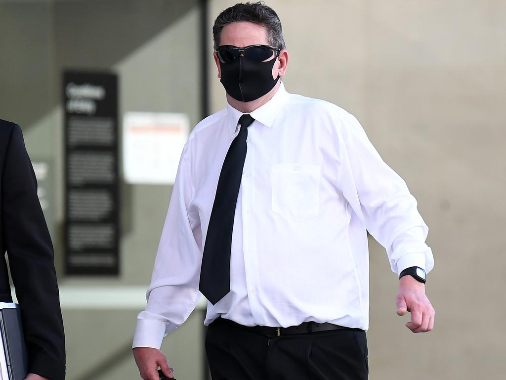 Terry John Dunnett pleaded guilty and was sentenced for possessing child-like sex dolls. Picture: NCA NewsWire / Dan Peled