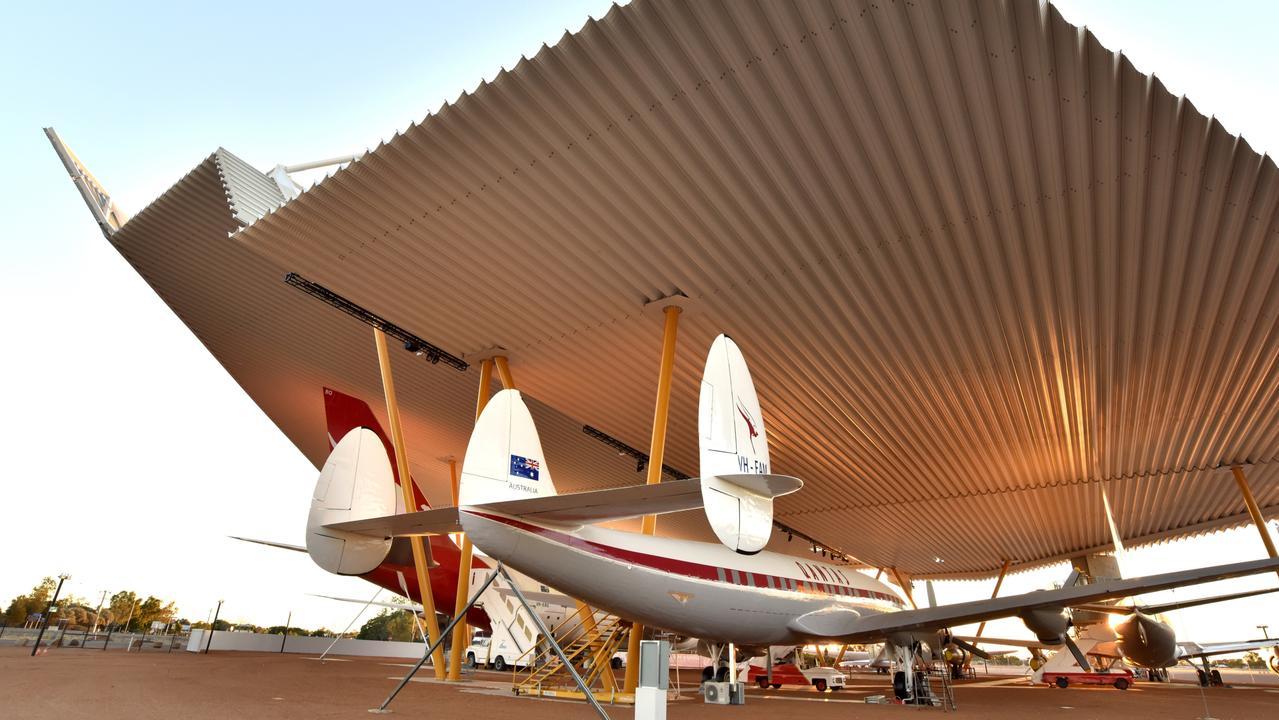 Qantas Founders Museum in Longreach. Picture: John Elliot
