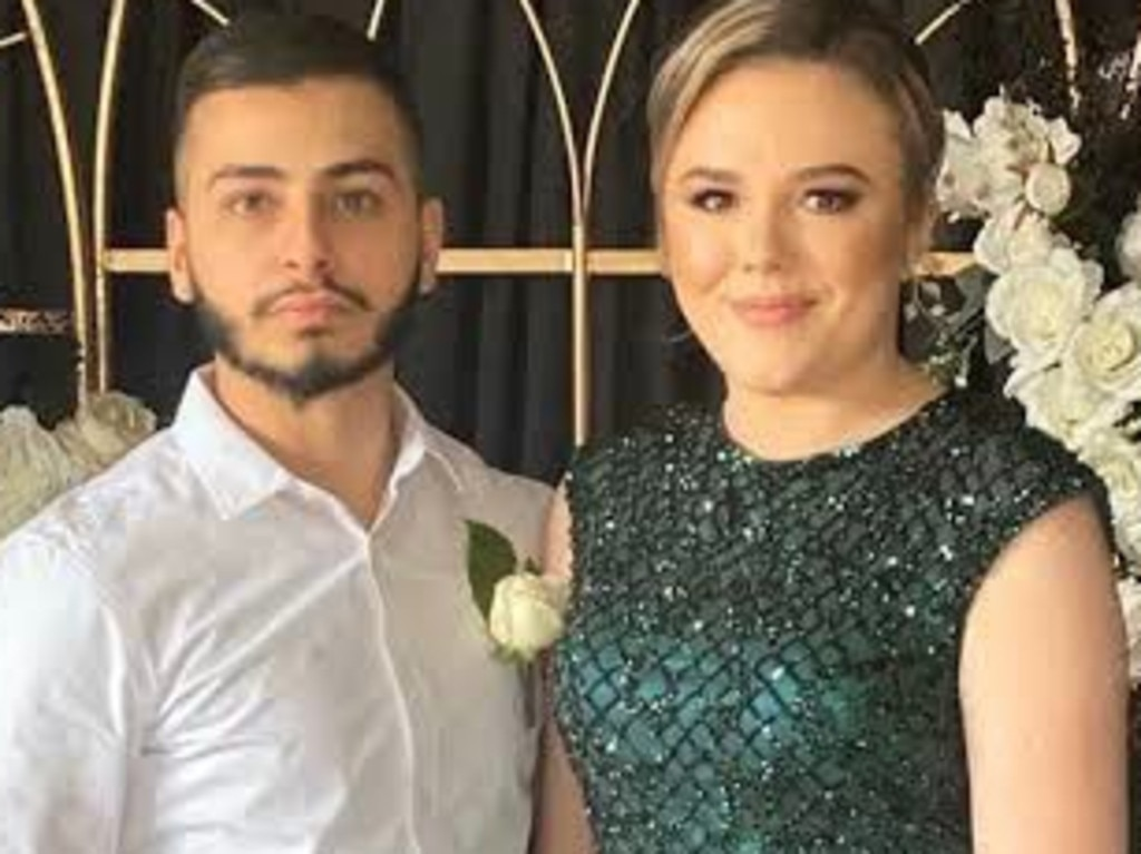 Monica Young and Mohammed Krayem. Picture: Supplied