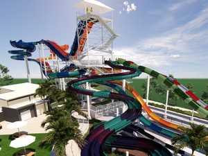 'Tallest in Australia': Theme park's massive new water slide