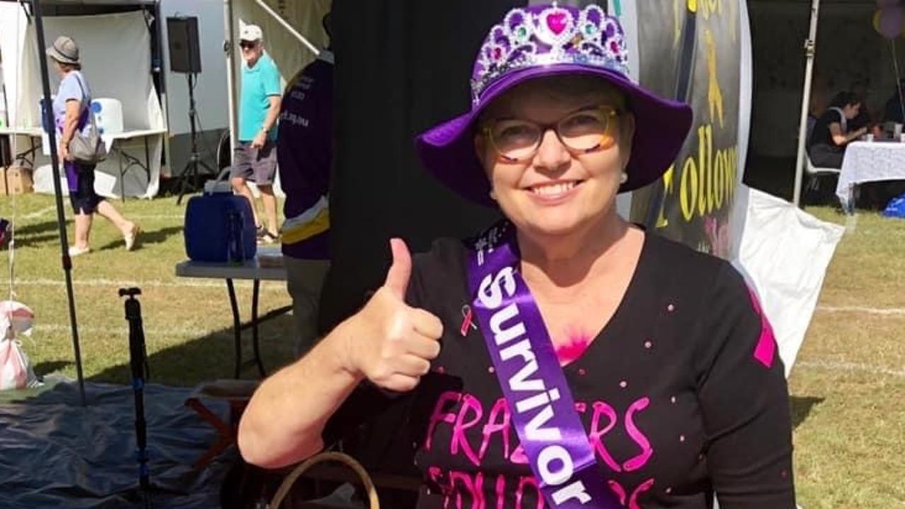 2021 Rockhampton Relay for Life Face of Relay, Susan Earle. Picture: Contributed