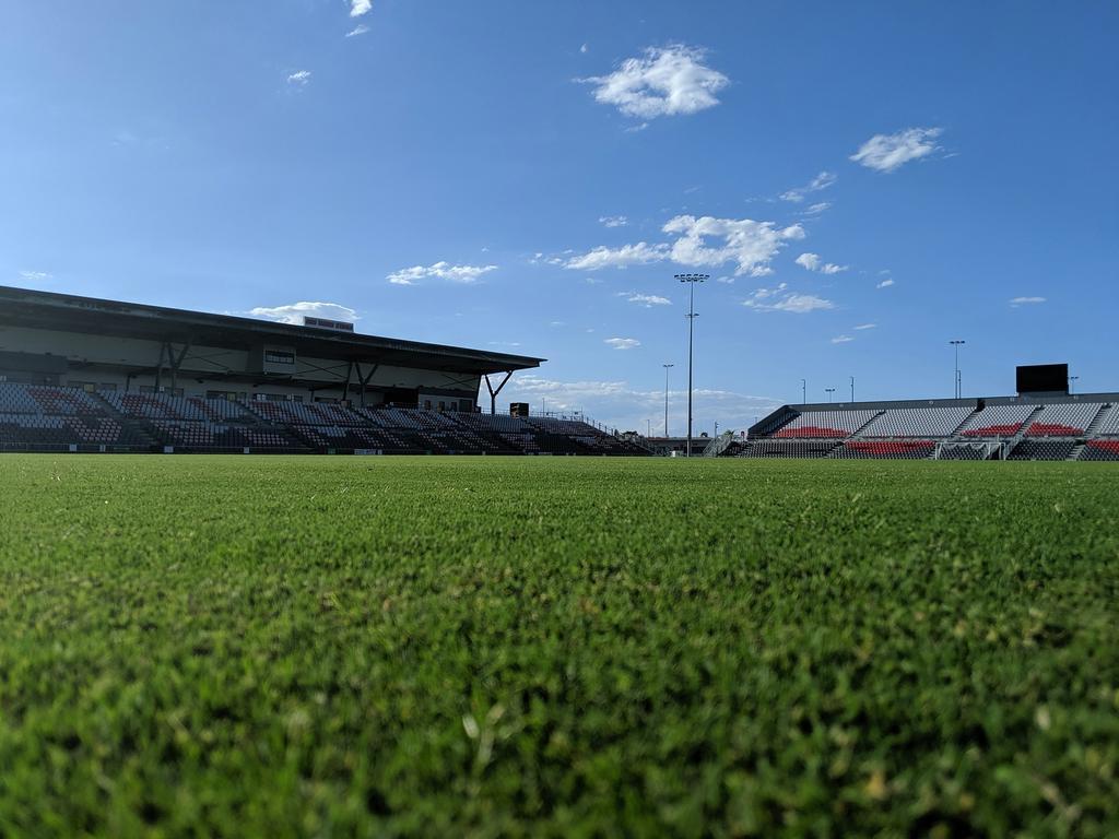 Dolphin Stadium has undergone a multimillion-dollar upgrade. Picture: Redcliffe Dolphins/Facebook