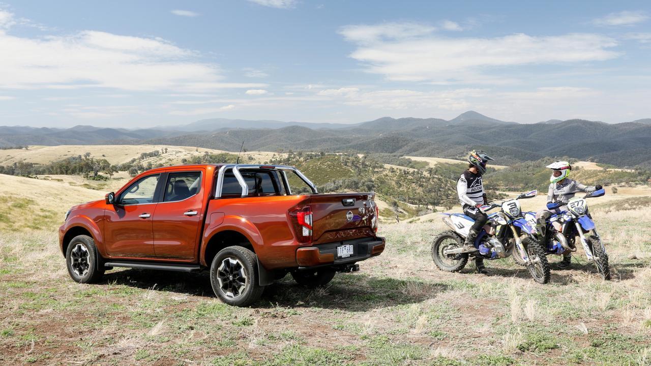 The 2021 model Nissan Navara maintains the same four-cylinder turbo diesel engine.