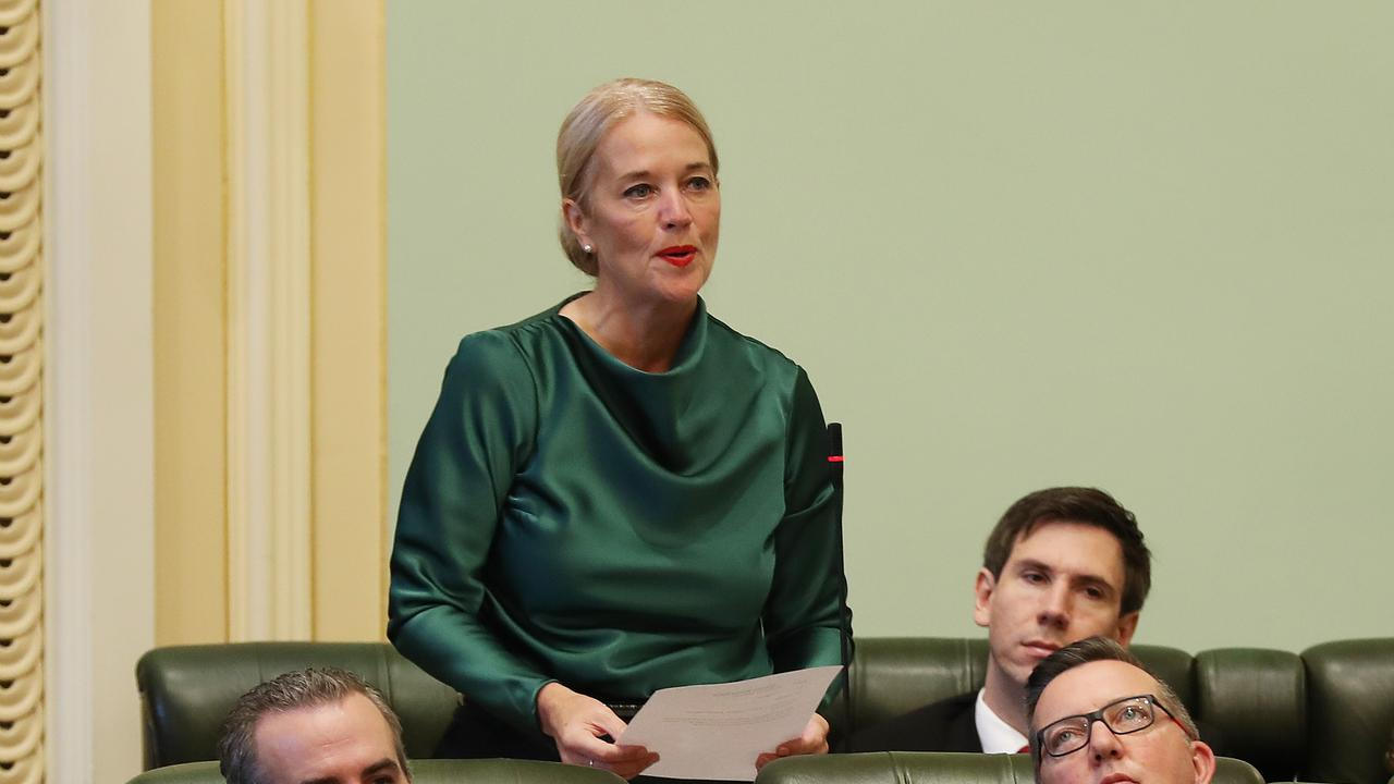 The embattled MP has been embroiled in another controversy after trolling allegations were tabled in Queensland parliament.