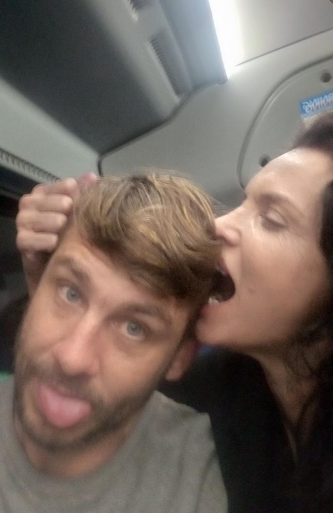 Sean McDine and Suzi Taylor. Picture: Facebook