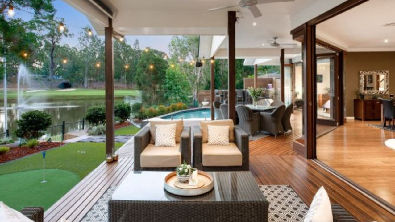 68-72 Oakview Circuit, Brookwater held the previous record for most expensive sale in Brookwater. Picture: Brookwater Residential