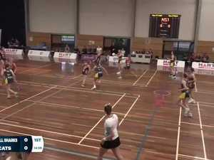 REPLAY: Queensland Netball Sapphire Draw - Bond Bull Sharks vs Wildcats