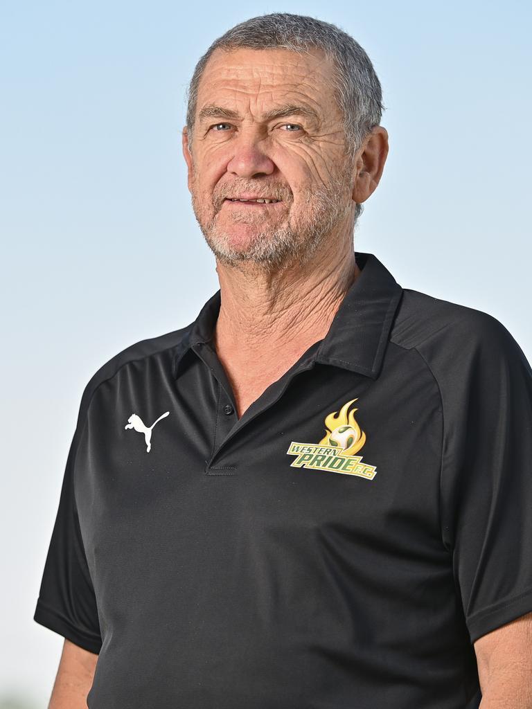 Western Pride head coach Brian Hastings.