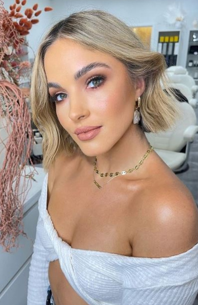 Former Miss Universe Australia, Olivia Molly Rogers, 29, opens up about her health battle. Picture: Instagram/oliviamollyrogers