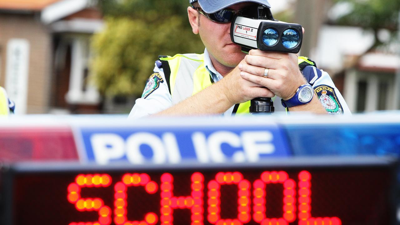 The altercation began when Mr Hannoun was caught speeding in a school zone.