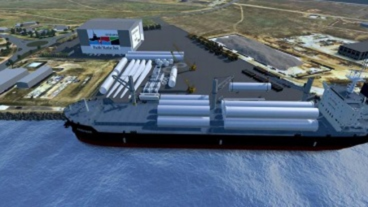 Gladstone Ports Corporation's (GPC) Bundaberg Port is growing, with Pacific Tug Group commencing works on the new Pacific Marine Base in the coming weeks.