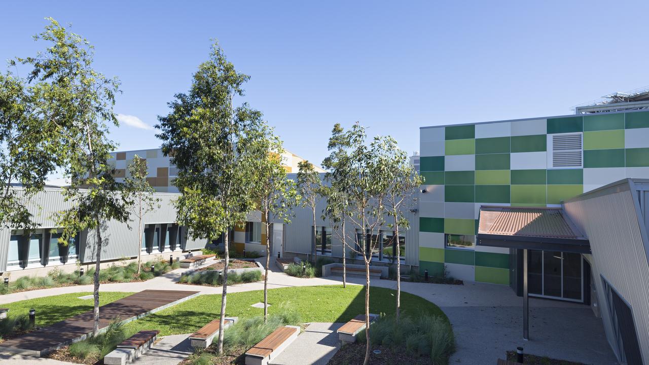 Gold Coast University Hospital Mental Health Unit.