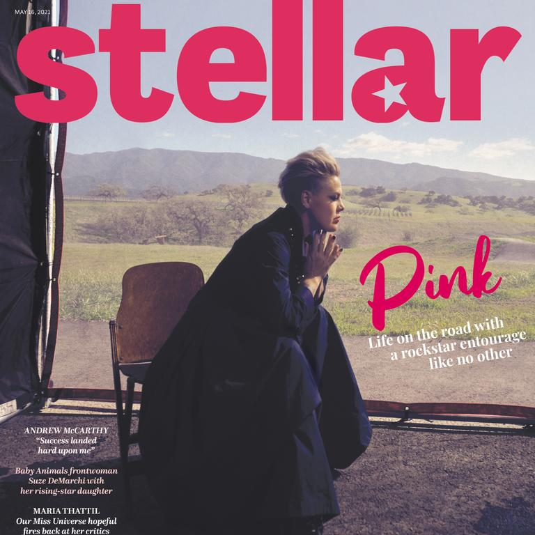 Pink stars on the cover of this Sunday's Stellar.