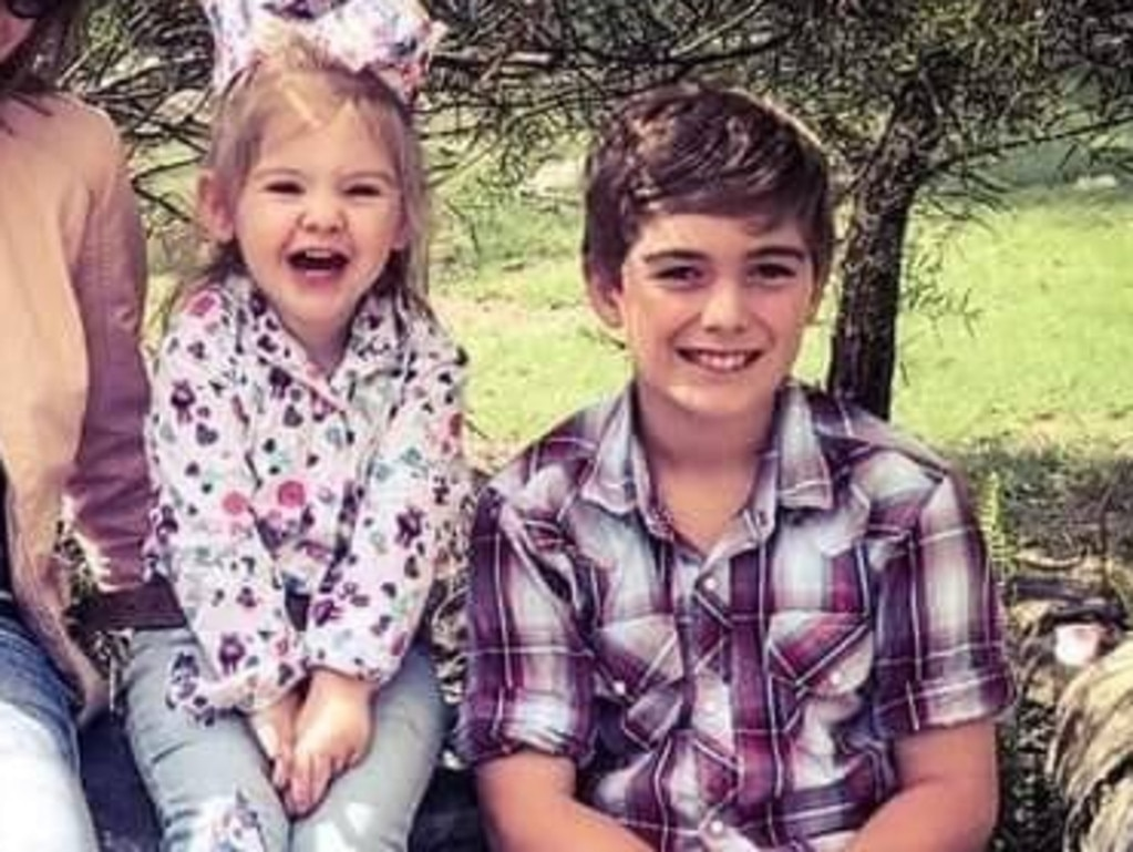 Leo and Mia Larsen lost their lives after becoming trapped in the car. Picture: Supplied