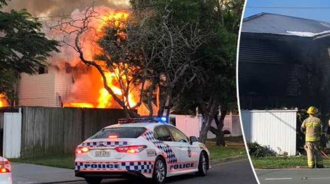 Man on attempted murder after women flee house inferno