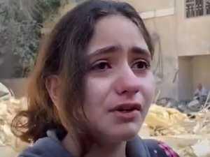 Little girl's heartbreaking Gaza video