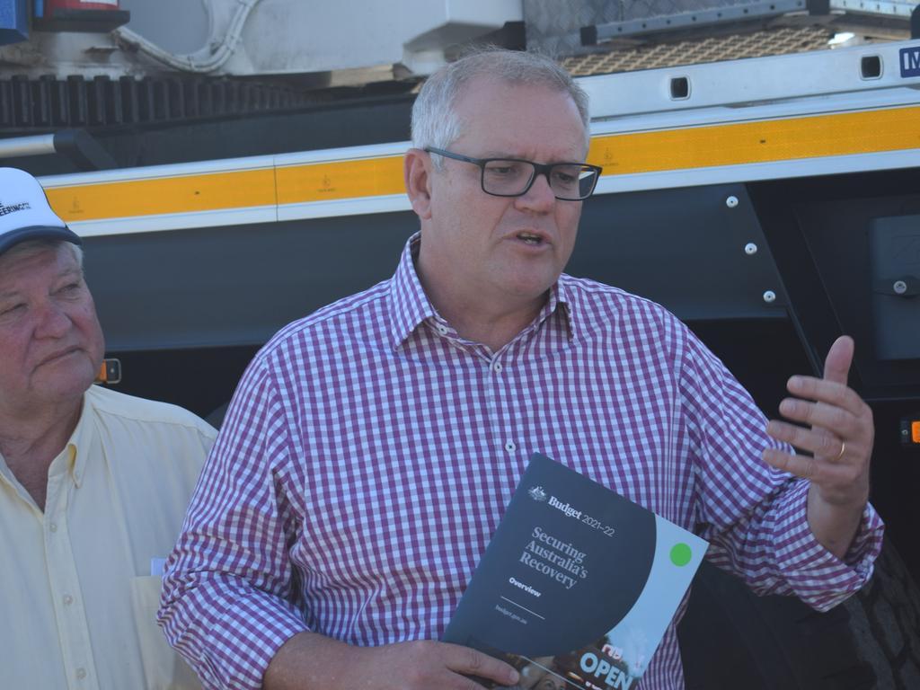 Prime Minister Scott Morrison. Picture: News Regional Media