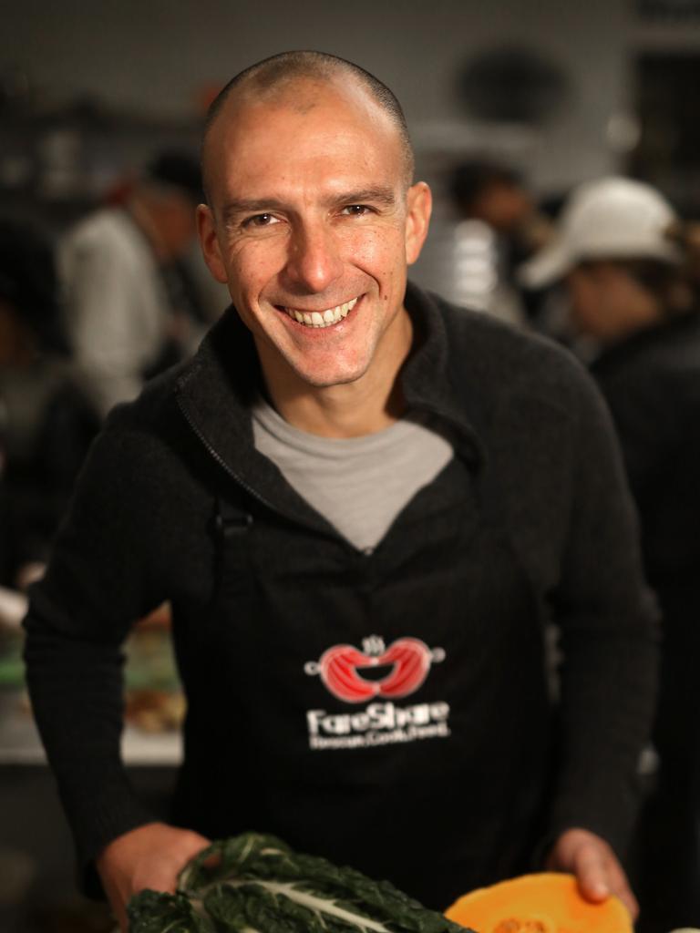 FareShare CEO Marcus Godinho. Picture: Stuart Milligan.