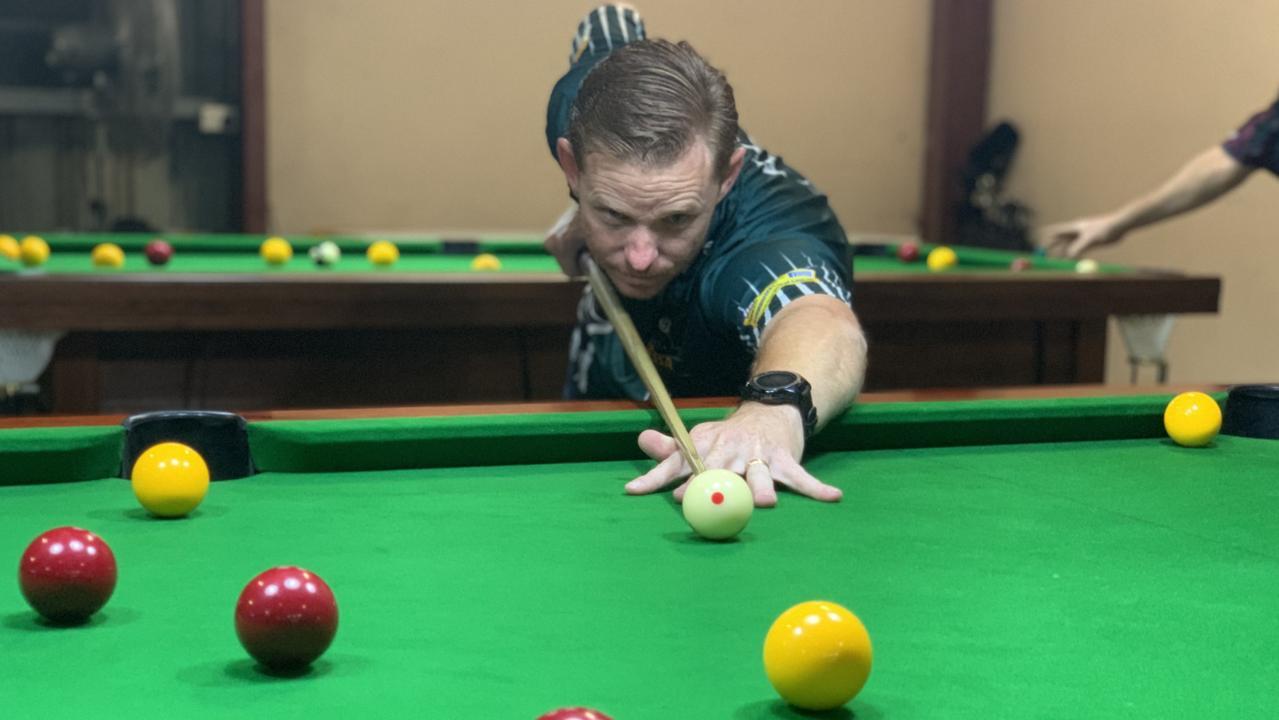 Ipswich snooker player Chris Hogan.