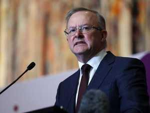Leaders blitz battleground Qld as early poll rumours swirl