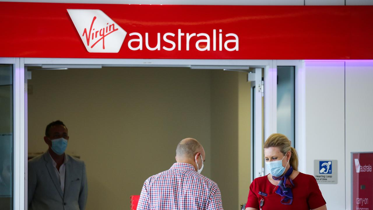 Virgin thinks it is impractical to keep border closed. Picture: Gaye Gerard