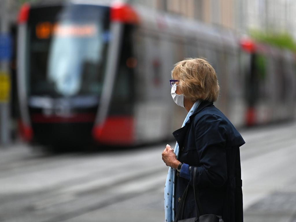 A failure by government bodies to factor in the cost of moving utilities led the Sydney's light rail budget to blow out. Picture: NCA NewsWire / Steven Saphore
