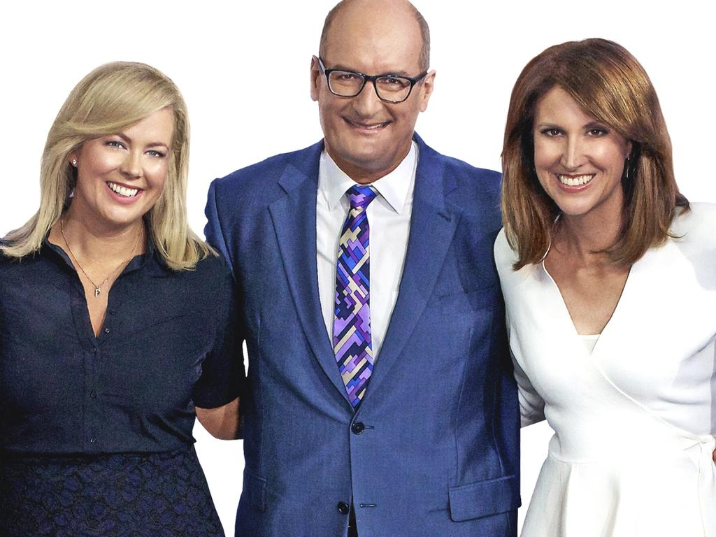 Natalie Barr replaced Samantha Armytage to co-host Sunrise with David Koch.