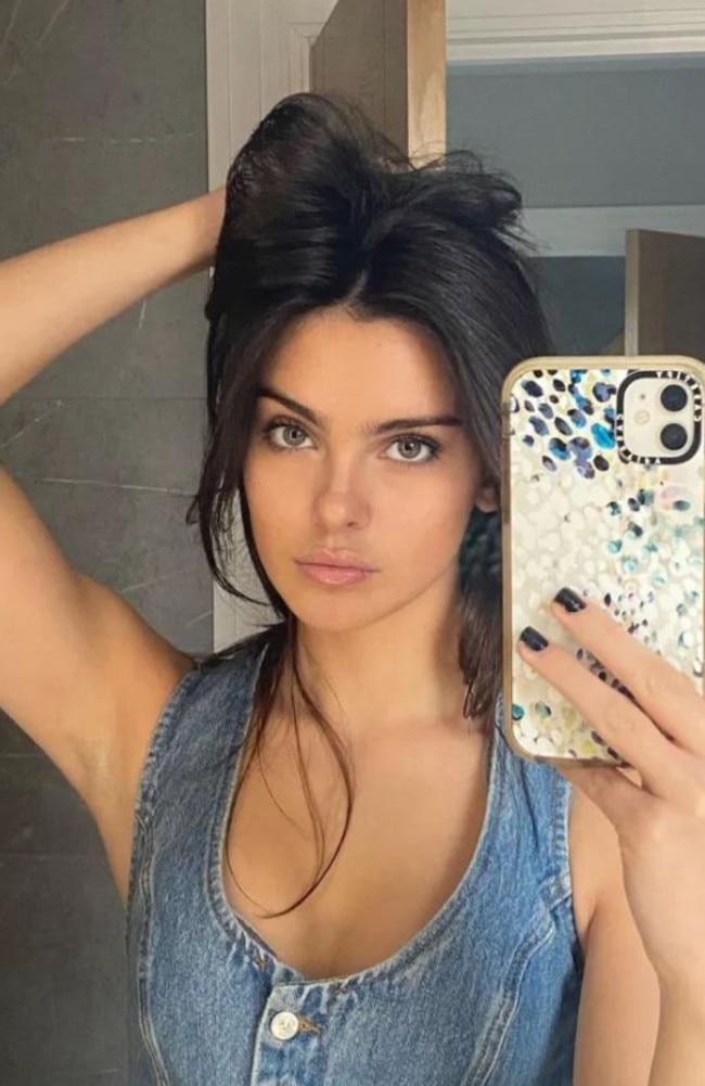 Social media star Alicia Breuer started her TikTok account in June. Picture: Instagram.