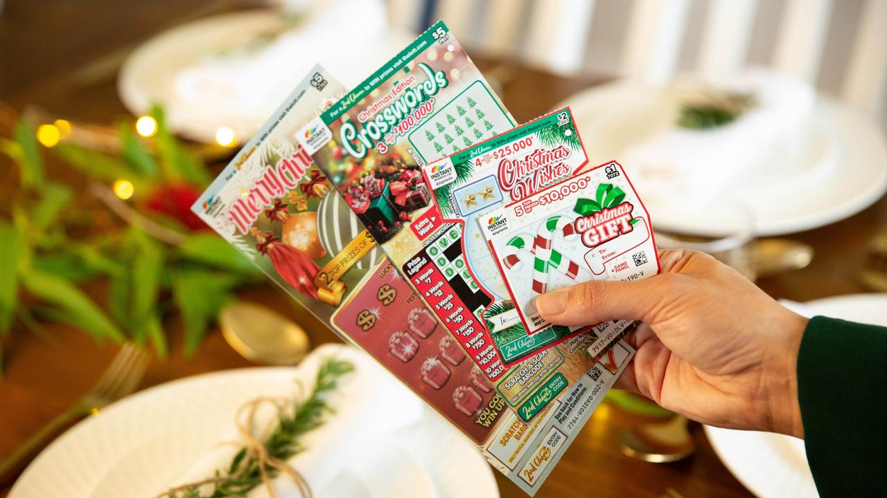 Rochedale man buys wife Christmas Scratch-Its joke … and wins $25,000
