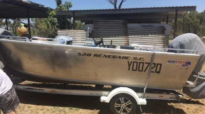 Police ask for public's help to find stolen boat from Bowen
