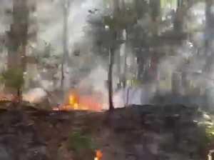 Beerwah fire