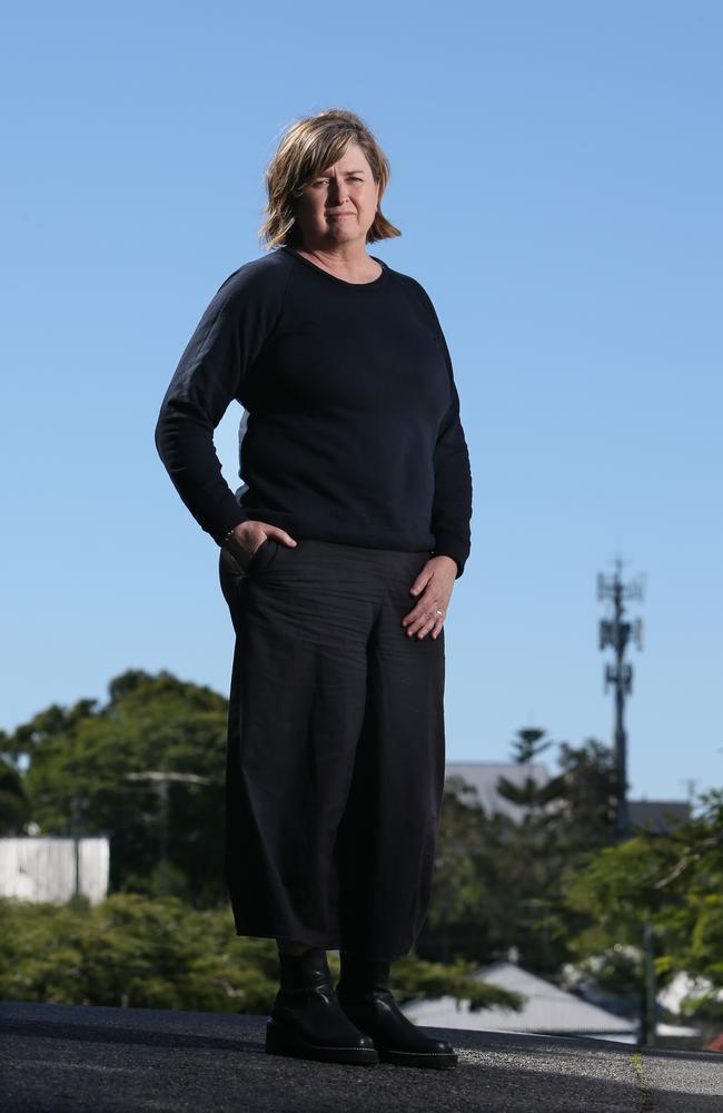 Angela Lynch, CEO of Women's Legal Service Queensland. Picture: Steve Pohlner