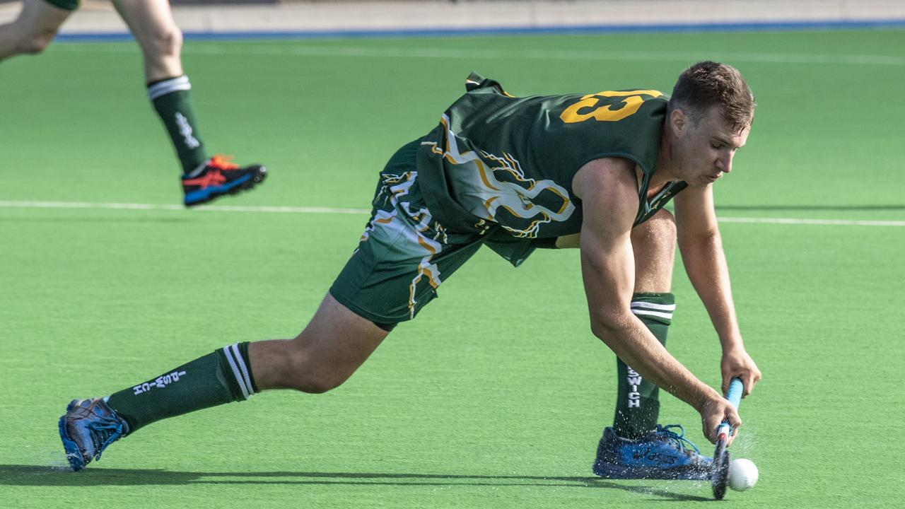 Ipswich representative player Ben Peters is playing an important role with Wests in this year's Ipswich competition. Picture: Nev Madsen.