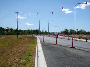 New roundabout in operation at major highway intersection