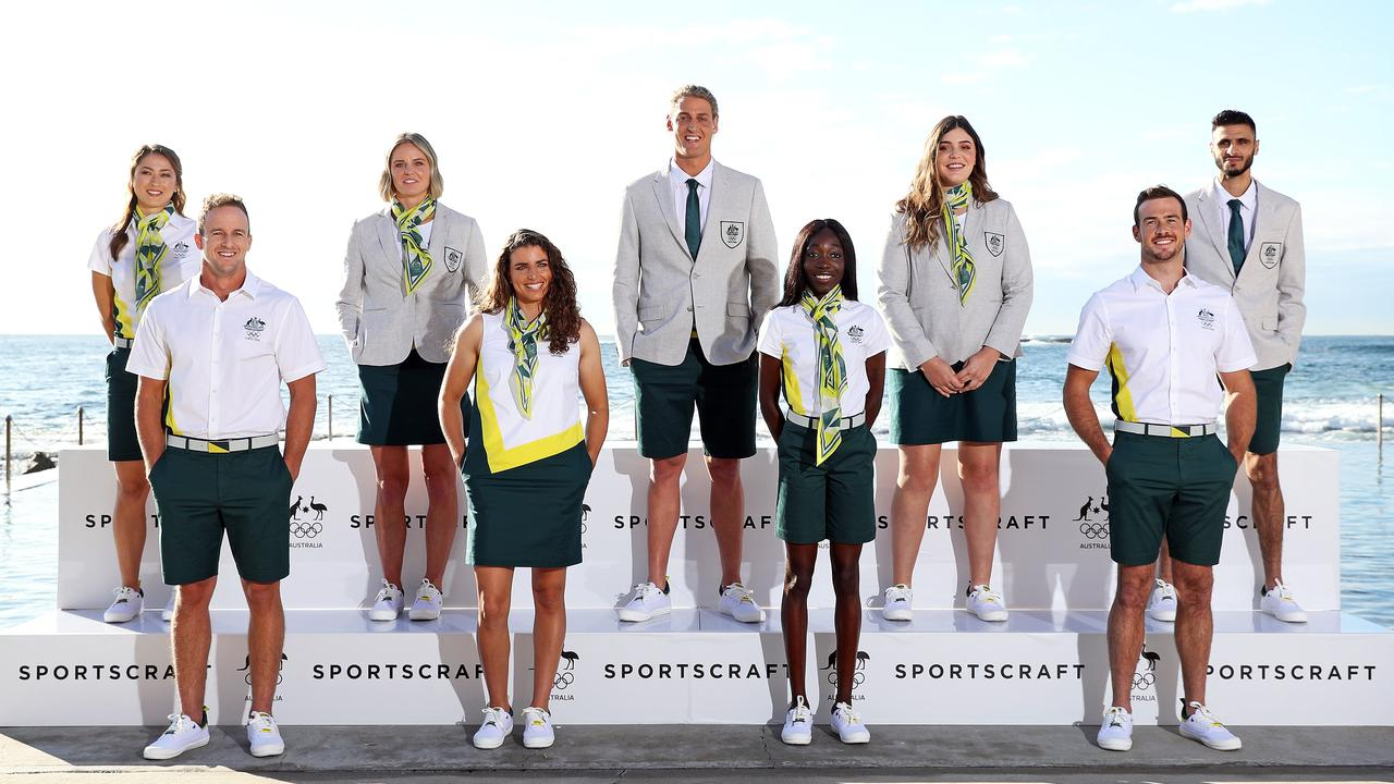 Australia's uniform for 2021 Tokyo Olympics revealed