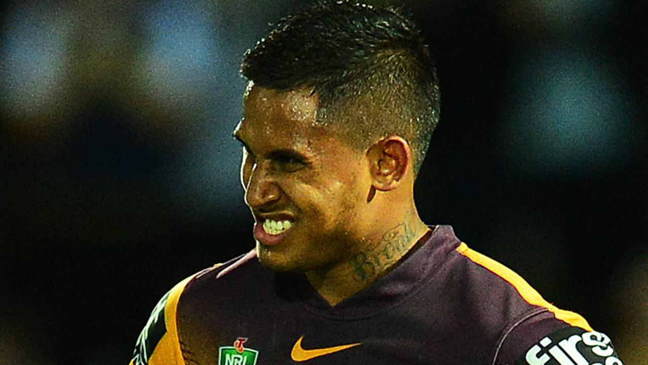 Ben Barba lasted just one season with the Broncos before joining Cronulla. Picture: Zak Simmonds.