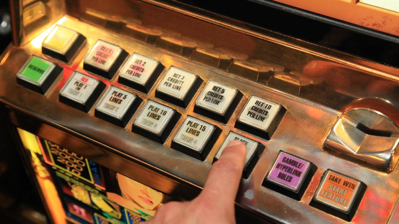 A man has pleaded guilty to fraud after stealing someone else's winnings from a pokies machine. Photographer: Liam Kidston.