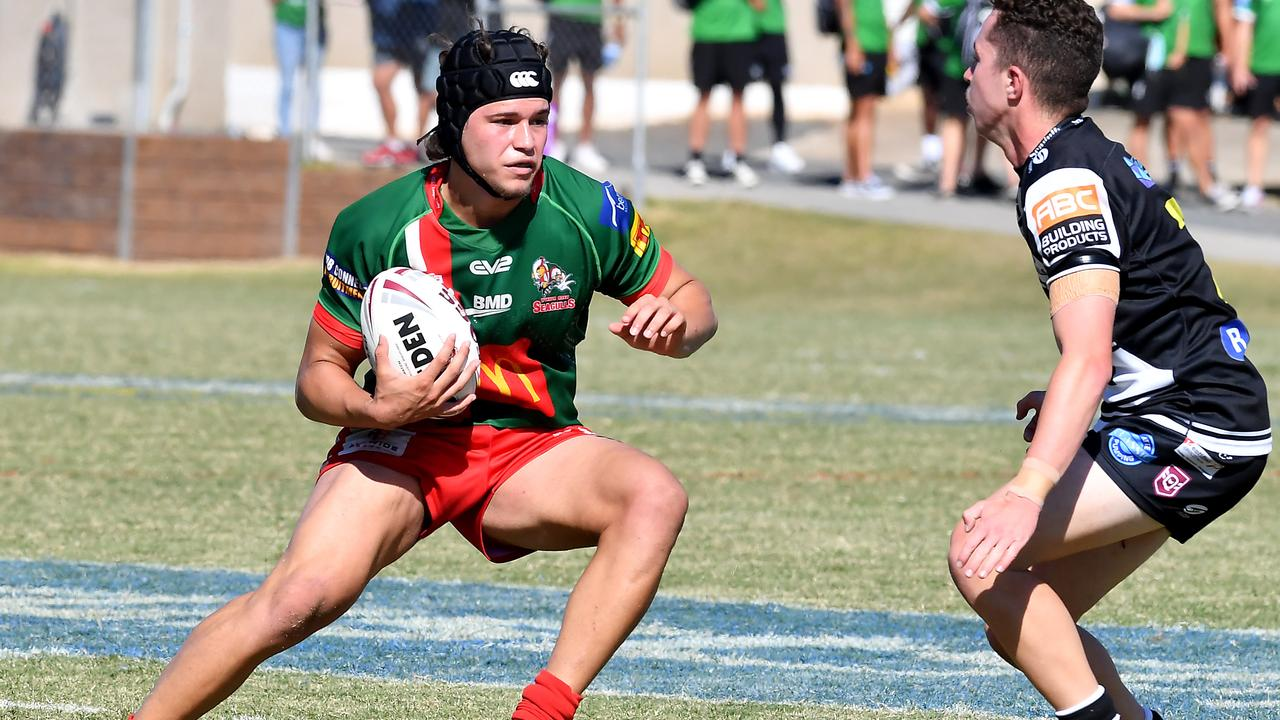 Marsden SHS student played in the Meninga Cup semi-final side for Wynnum. Picture, John Gass
