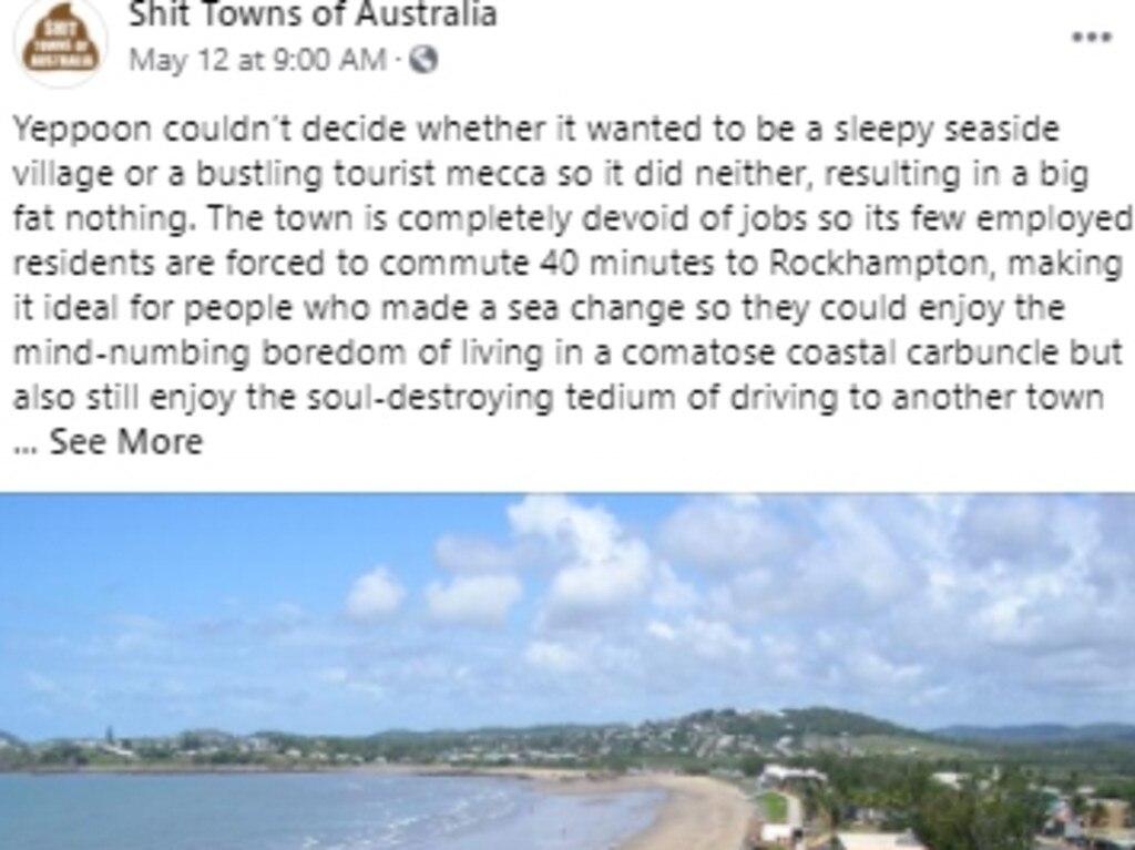 Shit Towns of Australia Yeppoon ranking May 2021