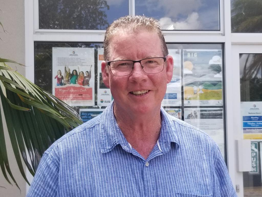 Member for Rockhampton Barry O'Rourke.