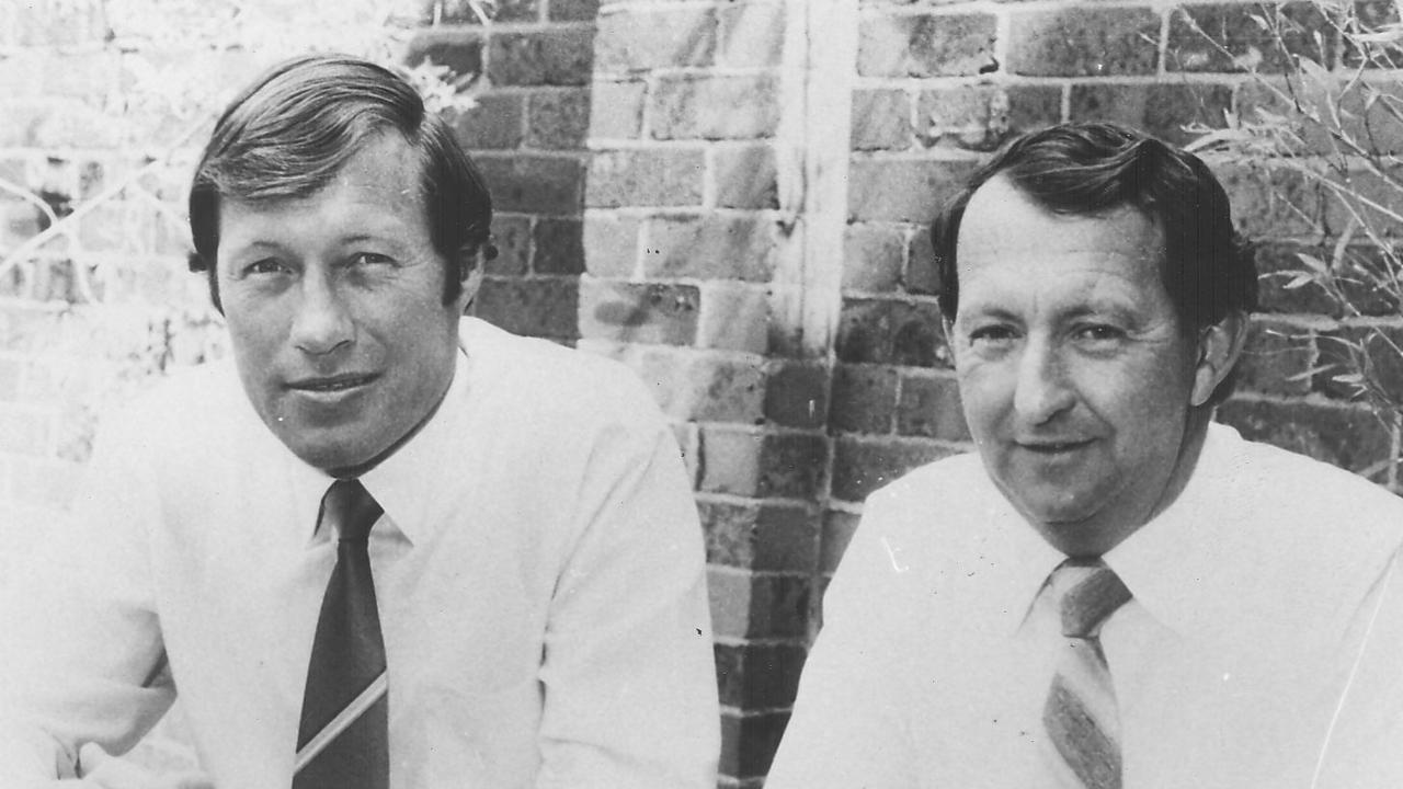 Allan Fitzgibbon, Craig's father, back in 1995.