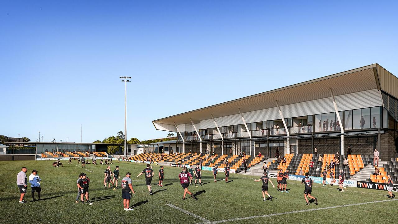 The Firehawks' new Centre of Excellence at Langlands Park.