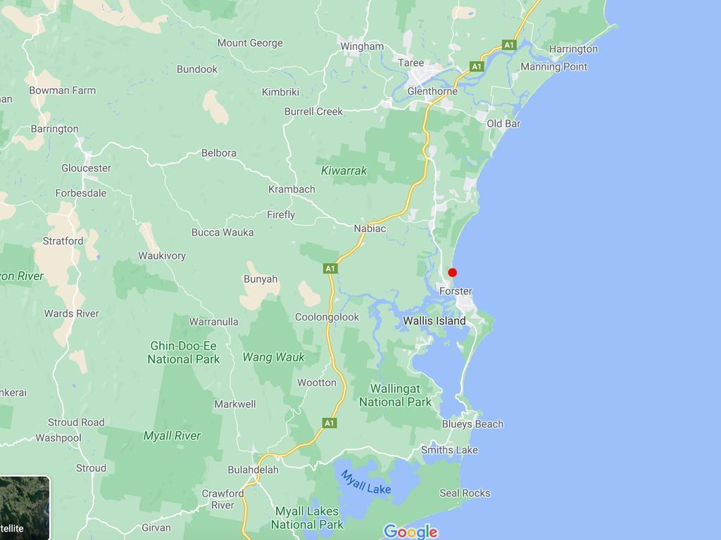 Tuncurry Beach. Picture: Google Maps.