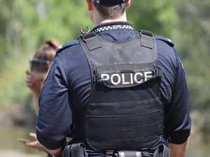 Occupants flee after car crashes into pole at Aura estate