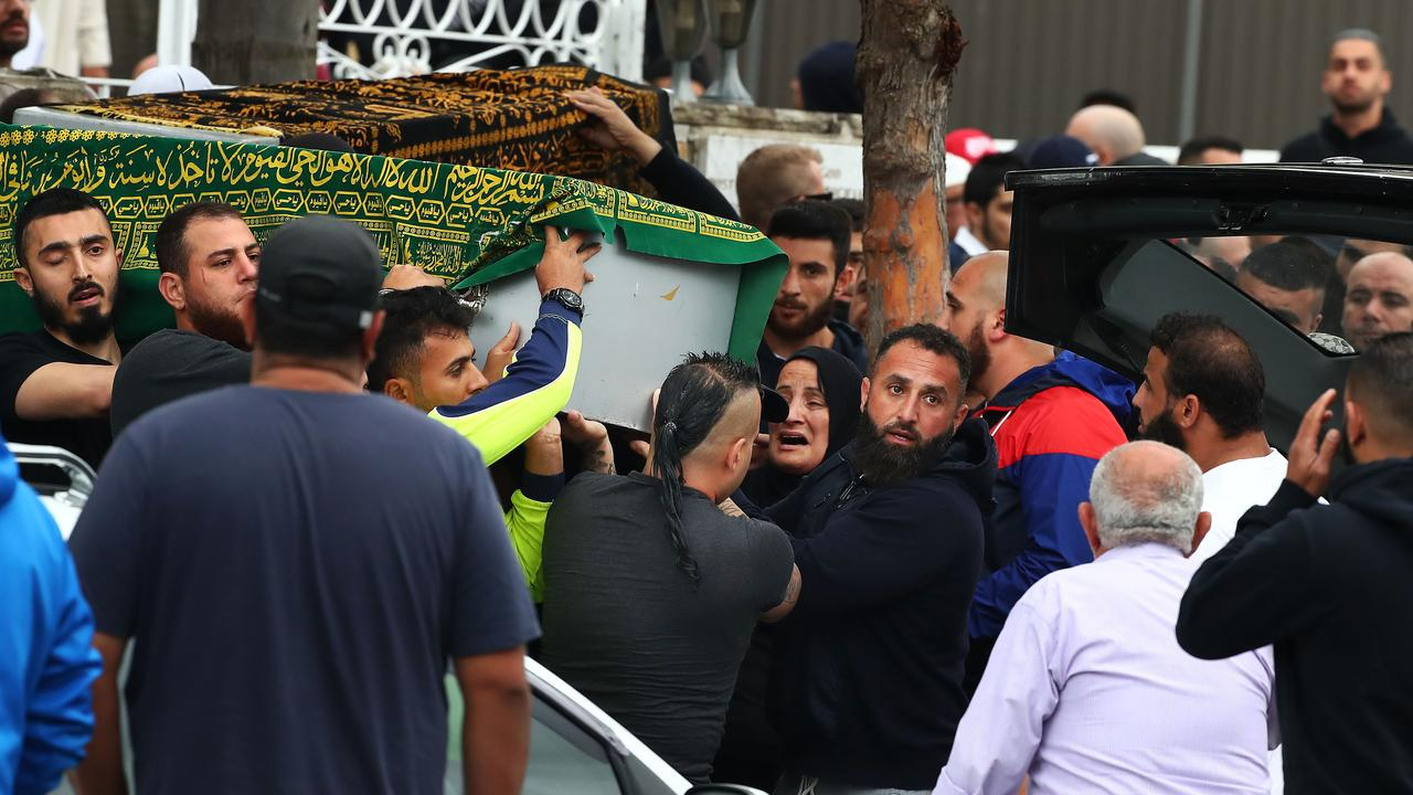 The funeral of Hamad Assaad at Lakemba Mosque in Sydney's west. Picture: John Feder/The Australian