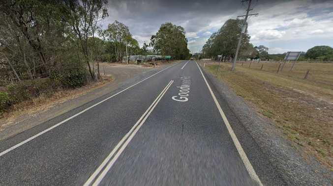 Man runs from crash after car flips near school