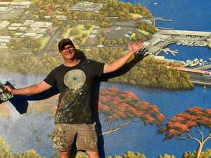 Artist captures Tewantin's spirit with stunning mural