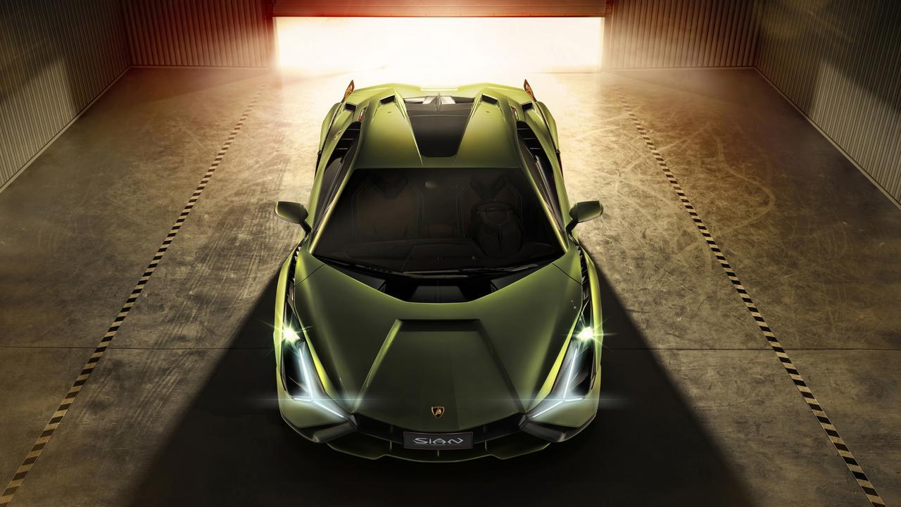 The limited edition Lamborghini Sian is a mild hybrid supercar.
