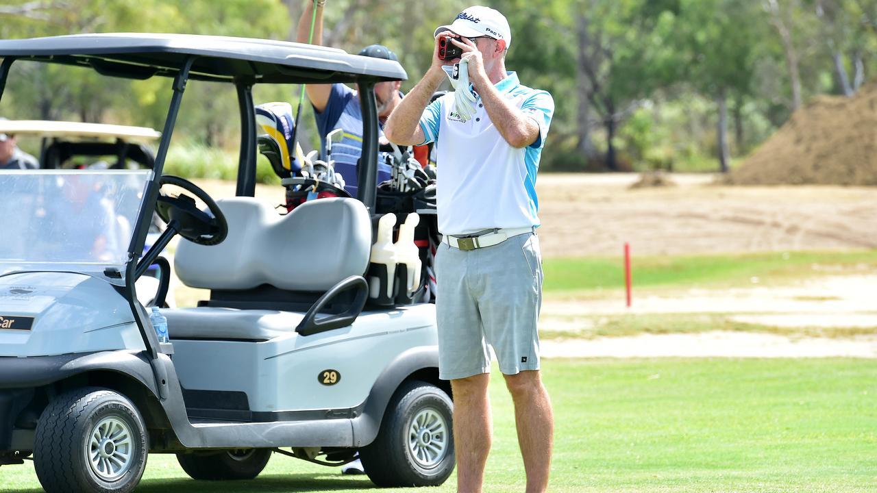 Rowes Bay Legends Pro-Am. Professional Golfer Glenn Joyner. Photo: Shae Beplate.